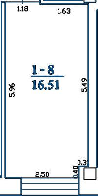 Patalpa 2L1-8