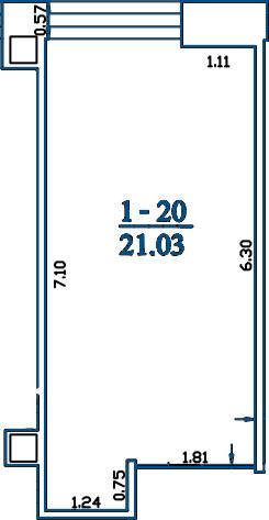 Patalpa 2L1-20