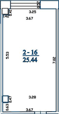 Biuras 2L2-16
