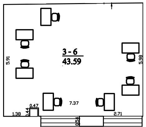Patalpa 2L3-6