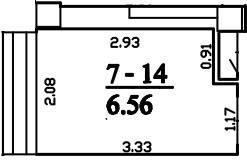 Patalpa 2L7-14