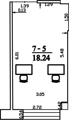 Patalpa 2L7-5