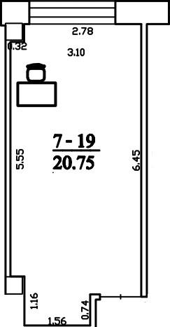 Patalpa 2L7-19
