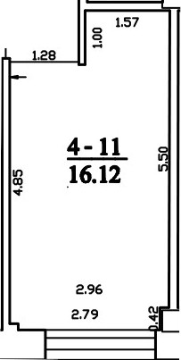 Patalpa 2L4-11
