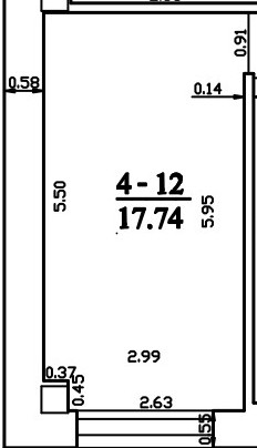 Patalpa 2L4-12
