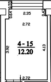 Patalpa 2L4-15