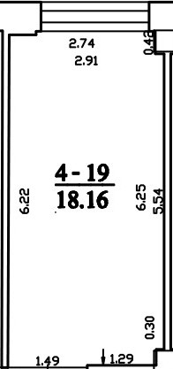 Patalpa 2L4-19