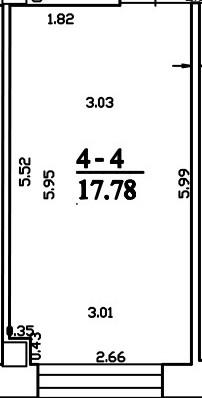 Patalpa 2L4-4