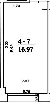 Patalpa 2L4-7