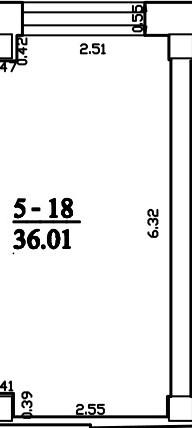 Patalpa 2L5-18-1