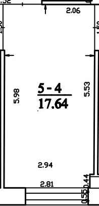 Patalpa 2L5-4