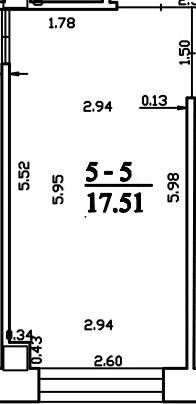 Patalpa 2L5-5