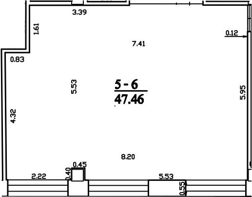 Patalpa 2L5-6