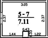 Patalpa 2L5-7