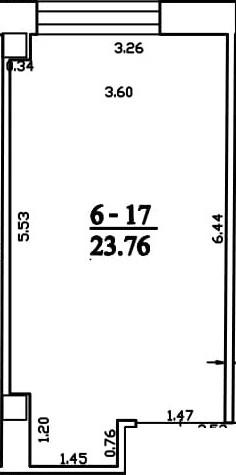 Patalpa 2L6-17