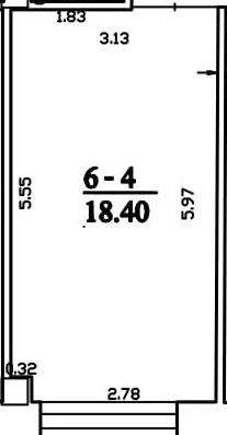 Patalpa 2L6-4