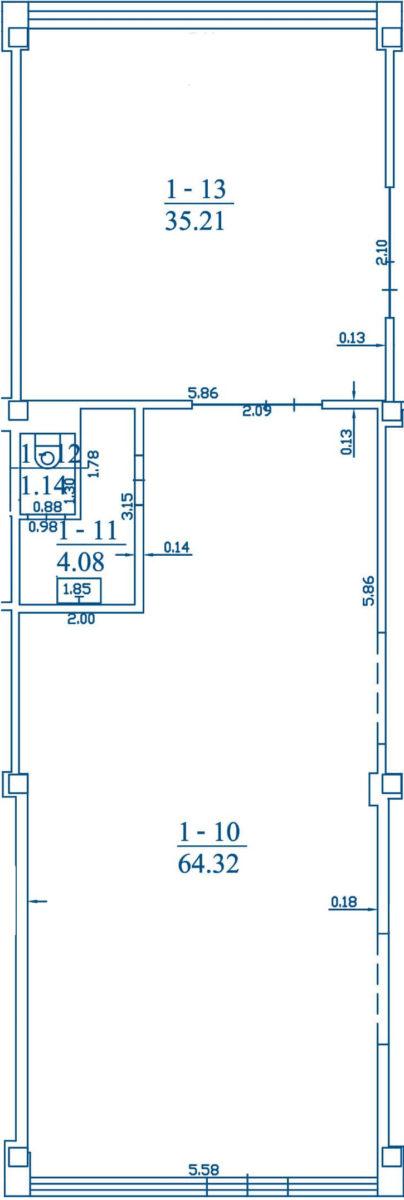 Patalpa 3B1-10