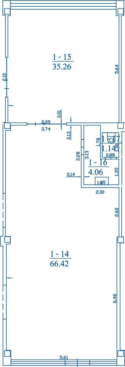 Patalpa 3B1-14