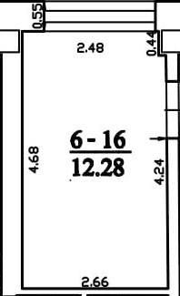 Patalpa 2L6-16