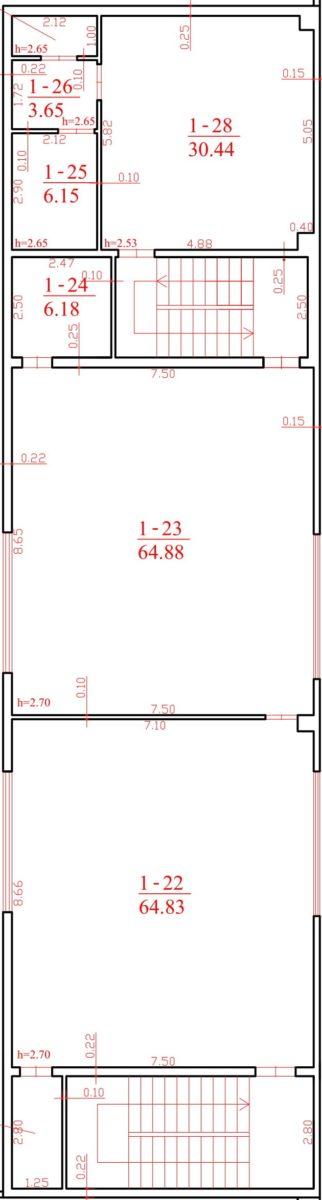 Sandėlis Nr. 40F (antras aukštas)