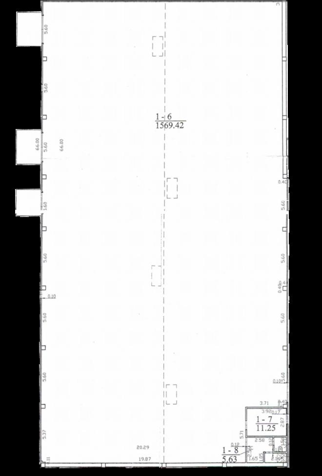 Sandėlio patalpa Nr. 28F-2