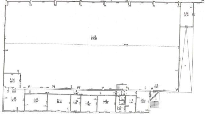 Sandėlio patalpa Nr. 16F-3
