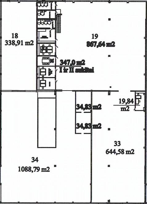 Sandėlis Nr. 37P-33,34